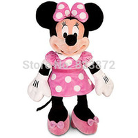 minnie mouse plush - Original Minnie Mouse Plush Toys Large Big CM quot Minnie Pink Stuffed Doll Pelucia Mickey Friend Kids Toys for Children