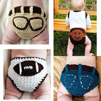 diapers for kids - Baby Diaper Cover Kids crchet diaper Cover Western Baby Diaper Cover handmade patterns color for choose Photography D001