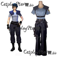 Wholesale Resident Evil Costumes Newest Jill Valentine Cosplay Costume