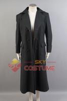 Wholesale Sherlock Holmes Long Cape Men Winter Wool Coat Cosplay Costume Warm Windbreaker