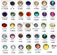 Wholesale Hot Fix Motif Rhinestones colors SS6 Packaged Separately JF9015
