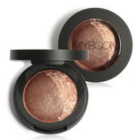 baking textures - MYBOON Baked Eyeshadow Two Shade in a Palette Baked Eye Shadow Ultra fine Mineral Texture Colors Optional