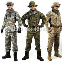 army bdu - Digital desert uniform Army Tactical suits uniforms BDU Military uniform ACU Multicam Uniform Sets