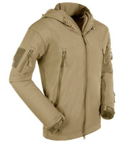 airsoft hoodies - Men Hunt Hike Camp Climbing Airsoft Survival Game Outerwear Hoodie Coat Jacket R