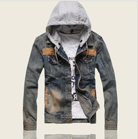 Cheap Denim Hoodie For Men | Free Shipping Denim Hoodie For Men ...