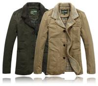 Wholesale Stylish Sports Jackets - Wholesale-New Stylish Outdoor Jackets Casual Mens Winter -Autumn Coat Brand Jacket Fur Collar Outercoat Sport Men Winter Jacket Overcoat