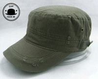 military hats and caps - new fashion sunbonnet flat military hat cap hat autumn and winter male women s navy cap K596