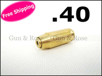 Wholesale CAL Brass Cartridge Red Laser Bore Sighter for Cartridge boresighter free batteries