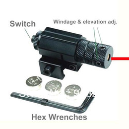 Wholesale Mini Tactical Outdoor Hiking Pistol Handgun Air Gun Red Dot Alignment Laser Sight