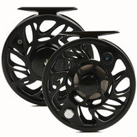 arbor free - N wt and w CNC Fly reel machine cut Aluminum Large arbor Fly fishing reel