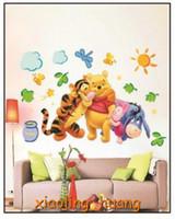 PVC winnie the pooh - Home Decor Winnie The Pooh Sunshine Wall Stickers