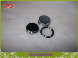 wholesale sigle diamond box gem box round steel box