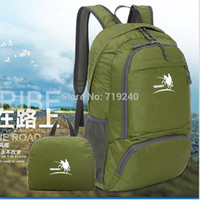 best climbing backpack - The new best selling large capacity outdoor travel backpack waterproof nylon folding outdoor climbing package