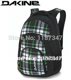 Wholesale Dakine New for Macbook Ipad travel Waterproof camping hiking School Backpacks Bag outdoor Surfing Skiing Skate Campus rucksacks