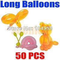 animal balloon twisting - Long Balloons Animal Tying Making DIY Decoration Latex Twist Assorted Party