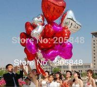 aluminium decals - cm Inch Heart Shape Aluminium Foil Decal Balloons Party Wedding Docrative Toy Ballons