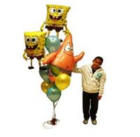 baby boy themes - Sponge Bob Patrick Star birthday party balloons adorable video game theme decoration children kid child baby boy
