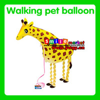 balloon outlet - Factory outlets and retail style walking animal balloon Girafee The style is available