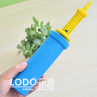 air pump design - High quality Balloon Pump Antiskid design PP Plastic Hand Air Inflatable Tool