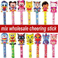 balloon games kids - mixed Cheering sticks balloons Kids birthday party supply Inflatable toys for children games