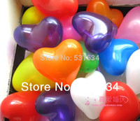 arch heart - Latex Heart Balloon birthday party supplies inflatable balloons wedding arch for decoration baloon globos kids