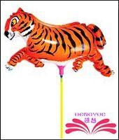 balloon pin - tiger push off pin foil balloon foil balloon within cm stick size x18cm