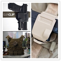 Cheap Wholesale-CP models holster For GLOCK 17 19 22 23 Tactical Airsoft Paintball Hunting Shooting Roto Right-Handed Gun Clip Holster BK TAN FG