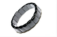 Cheap Wholesale-Wholesale crystal black tourmaline hand row apotropaic Men fashion jewelry wholesale