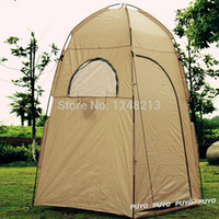 backpacking clothing - New High Quality UV protection waterproof Large Outdoor camping Bath Change Clothes Tent shower Fishing Mobile Toilet Tent
