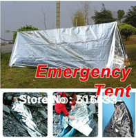 Wholesale New Tent Tube Survival Outdoor camping emergency tent blanket refugee tent