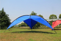 gazebo - Free shiping Outdoor camping tents big size shade tents outdoor awning large beach tent shade shed awned gazebo