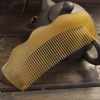 amber waves - Comb Hair Natural Amber Ox Horn Combs Wave No Static Health Care Combs CM Length