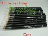 Wholesale set Waterproof Liquid Eye Liner white Eyeliner Pencil Makeup Pen el04