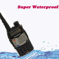 police scanner - New Waterproof Pofung Baofeng UV RA For Police Walkie Talkies Scanner Radio Vhf Uhf Dual Band Cb Ham Radio Transceiver
