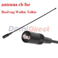 cb radio antenna - nagoya na Dual Wide Band VHF UHF MHz Handheld Radio SMA F Female Soft Antenna NAGOYA NA For BaoFeng antenna cb