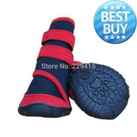 Wholesale Fashion Large Dog Shoes Winter Waterproof Big Pet Puppy Boots Foot set Sports shoes non slip Keep for dogs set XXS XXL