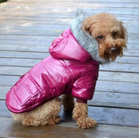 Wholesale Chihuahua Warm Winter Coat Waterproof Hooded Clothes with Double Pockets Ropa Para Perros Pet Dogs