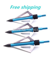compound - hunting arrow tips cut steel aluminum archery arrowhead grain fit compound bow or crossbow