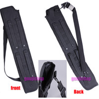 airsoft brands - brand new Tactical Shotgun Scabbard Shoulder holster Sling Padded Gun Case for hunting airsoft