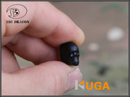 Wholesale BD Skull Style Magazine Release Button for AEG Airsoft M4 M16