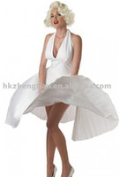 Wholesale women fun celebrity Marilyn Monroe costume dress party costume size S XL