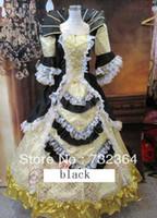 belle cape - Free ship luxury Medieval Renaissance Gown queen Dress Costume Victorian Gothic Lol Marie Antoinette civil war Colonial Belle