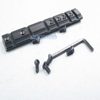 allen screw standards - Aluminum Alloy RIS mm Mount Standard Weaver Rail of Hunting Rifle Accessories with Six Screws and One Allen Wrench