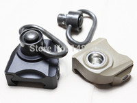 Wholesale KAC style QD Quick release push stud sling swivel mount fit mm ris ras rail BK DE