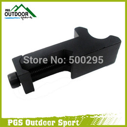 Wholesale Airsoft Air Gun Rifle Tactical degree Angle Offset Side Rail Scope Mount