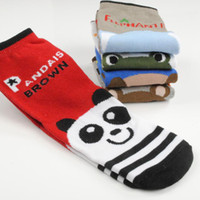 Cheap Wholesale-1 Pair Cool Cotton Baby Kid Socks Foot Wear Children Boys Girl Sock Baby Clothing Fit For 4-6 Years Old -- SKA30 Wholesale PA62