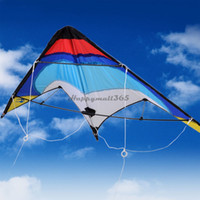 Wholesale Drop Shipping Dual Line Stunt Parafoil Parachute Sports Beach Kite Outdoor Leisure Activity For Beginner