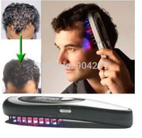 laser comb hair - Hairmax Laser power grow hair Health care beauty comb brushes hair Cure Loss Therapy Massager with nano led