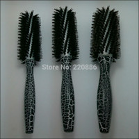 Wholesale Boar Bristle Nylon Hair Brush Round Hair Brush Long Handle Hair Brush GIC HB529