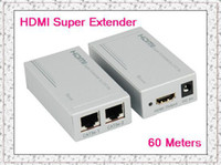 Wholesale HDMI Super Extender by x CAT e UTP cable meters HDTV